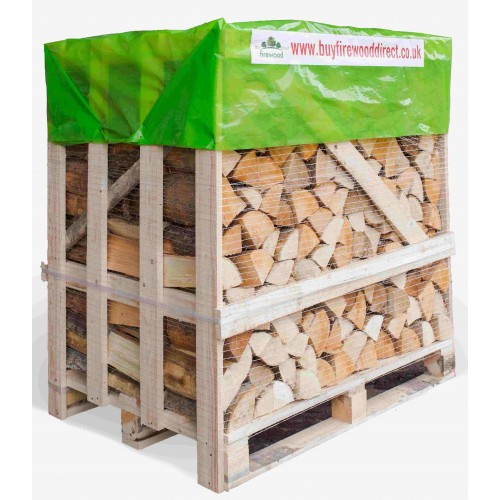 KILN DRIED FIREWOOD 1.25M CRATE