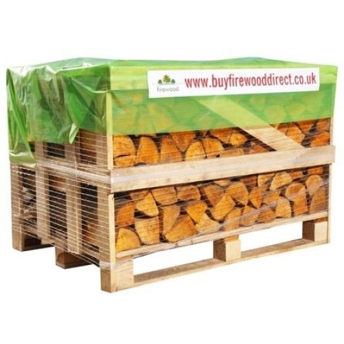 KILN DRIED FIREWOOD 0.8M CRATE