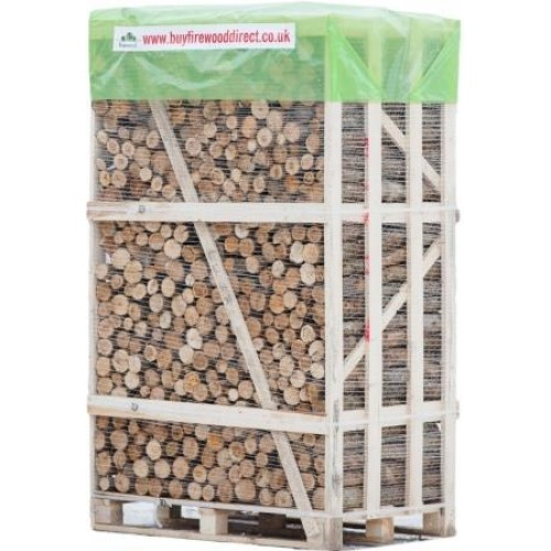 KILN DRIED UNSPLIT LOGS 2M CRATE