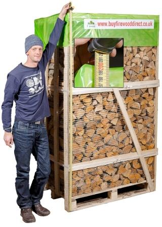 KILN DRIED FIREWOOD 2M CRATE
