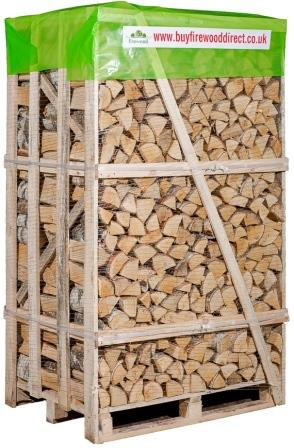 KILN DRIED BIRCH 2M CRATE